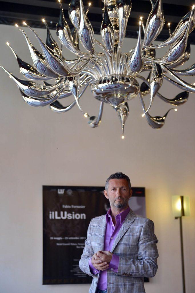 VENEZIA 30/05/13 - Fabio Fornasier, IlLUsion, hotel Liassidi Palace. ©Andrea Pattaro/Vision